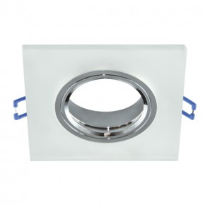 Oprawy-sufitowe - ozdobny pierścień podtynkowy selena d frosted 03598 ideus