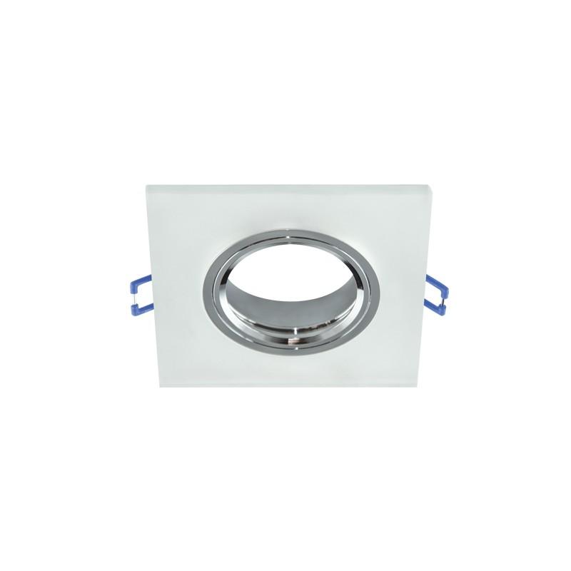 Oprawy-sufitowe - ozdobny pierścień podtynkowy selena d frosted 03598 ideus firmy IDEUS - STRUHM