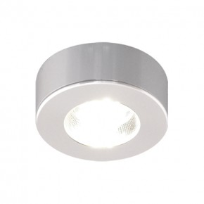 Oswietlenie - meblowa oprawa dekoracyjna srebrna cob led alfi led c 3,5w 4000k 03099 ideus