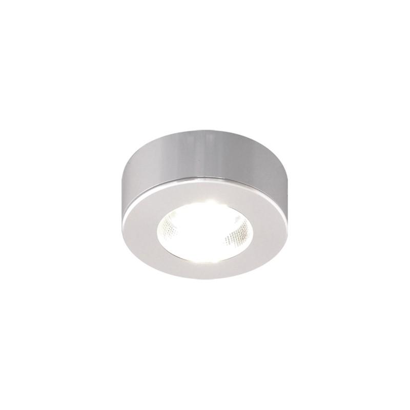 Oswietlenie - meblowa oprawa dekoracyjna srebrna cob led alfi led c 3,5w 4000k 03099 ideus firmy IDEUS - STRUHM