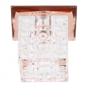 Oprawy-sufitowe - sufitowa oprawa punktowa brązowa lilyum hl805 02107 ideus