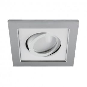 Oprawy-sufitowe - sufitowa oprawa punktowa srebrno-biała borys d 03219 ideus