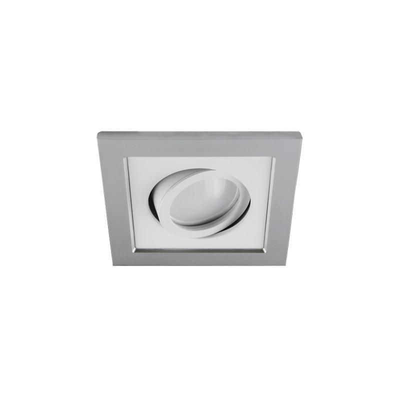 Oprawy-sufitowe - sufitowa oprawa punktowa srebrno-biała borys d 03219 ideus firmy IDEUS - STRUHM