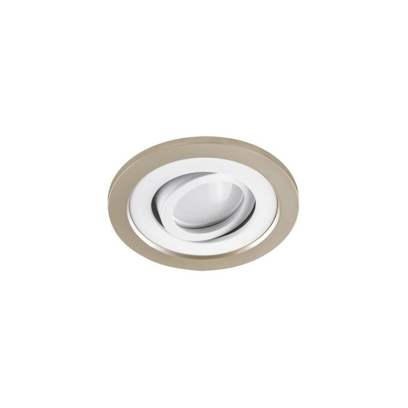 Oprawy-sufitowe - podtynkowa oprawa sufitowa beżowo-biała borys c 03226 ideus firmy IDEUS - STRUHM