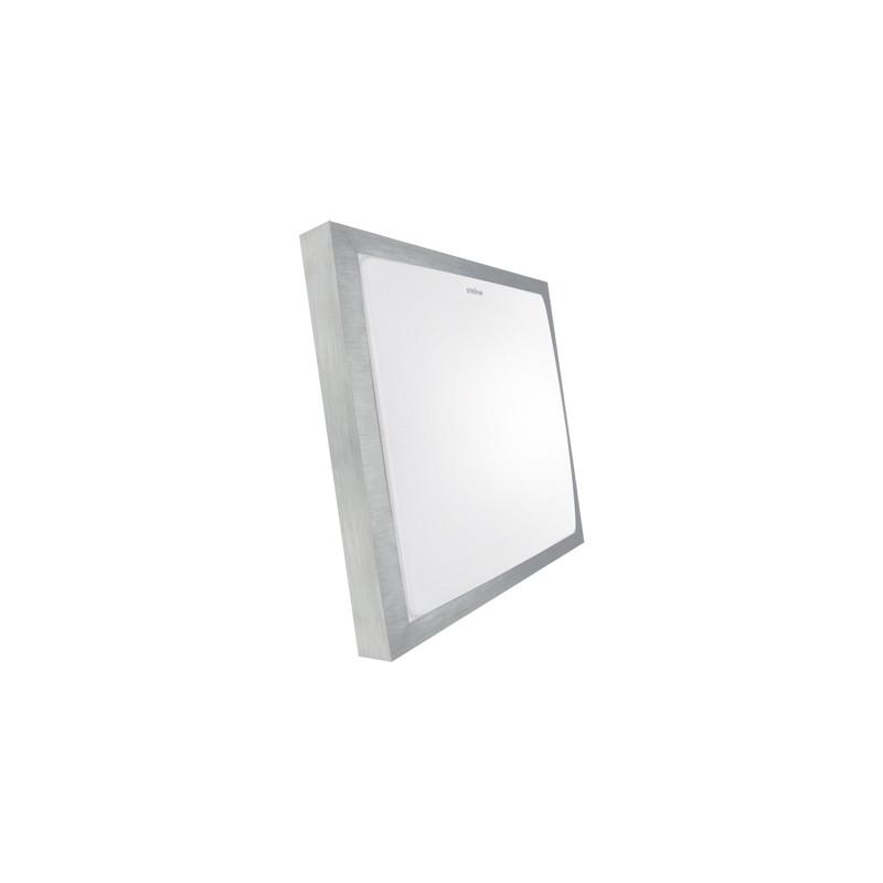 Oprawy-sufitowe - kwadratowa plafoniera smd led alex led d 12w 4000k 03243 ideus firmy IDEUS - STRUHM