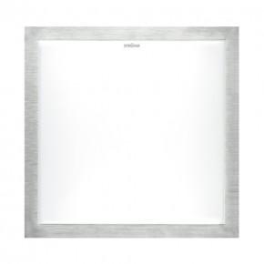 Plafony - srebrna plafoniera smd led alex led d 24w 4000k 03245 ideus