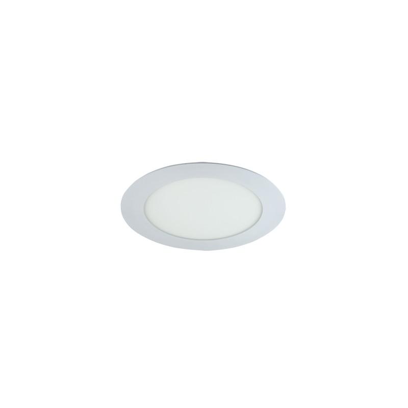 Oprawy-sufitowe - dekoracyjna oprawa sufitowa biała smd led slim led c 9w 2700k 02483 ideus firmy IDEUS - STRUHM