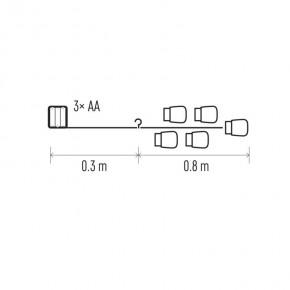 Oswietlenie-choinkowe - dekoracje - 15 led 0,8 m szklane słoiczki 3× aa ww, timer emos - 1534209800
