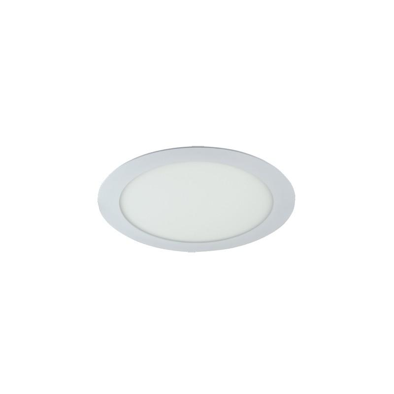 Oprawy-sufitowe - duża oprawa oświetleniowa biała smd led slim led c 18w 6500k 02488 ideus firmy IDEUS - STRUHM