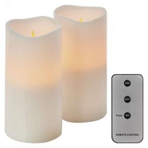 Oswietlenie-choinkowe - świeczki led na baterie świąteczna dekoracja z pilotem+timer 6xaaa zy2144 emos