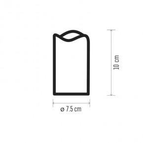 Oswietlenie-choinkowe - świeca led dekoracyjna na baterie 10cm 3xaaa+timer zy2146 emos
