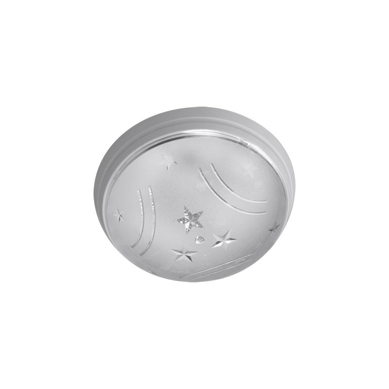Plafony - biała plafoniera sufitowa ufo star 02223 ideus firmy IDEUS - STRUHM
