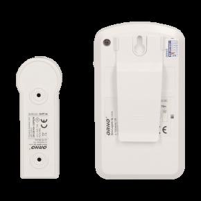 Dzwonki-do-drzwi-bezprzewodowe - dzwonek bezprzewodowy bateryjny z learning system disco dc or-db-kh-122 orno
