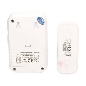 Dzwonki-do-drzwi - bateryjny dzwonek bezprzewodowy z learning system fado dc or-db-kf-134 ideus