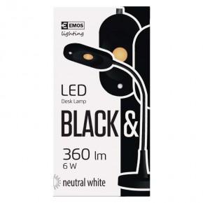 Lampki-biurkowe - lampa biurkowa led ht6105 czarna emos - 1538090200