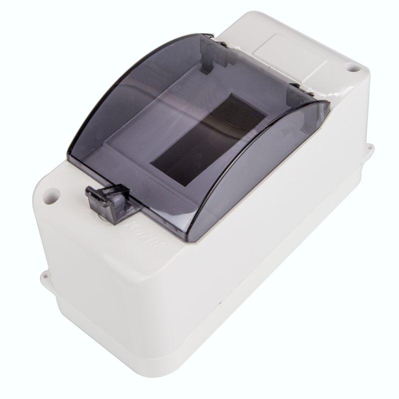 Skrzynki-elektryczne - obudowa bezpiecznikowa 3 modułowa z zerem i klapką ob-3zzk karlik firmy Karlik