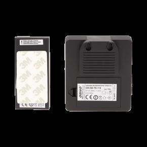 Dzwonki-do-drzwi-bezprzewodowe - dzwonek bezprzewodowy bateryjny z learning system opera dc or-db-yk-118 orno