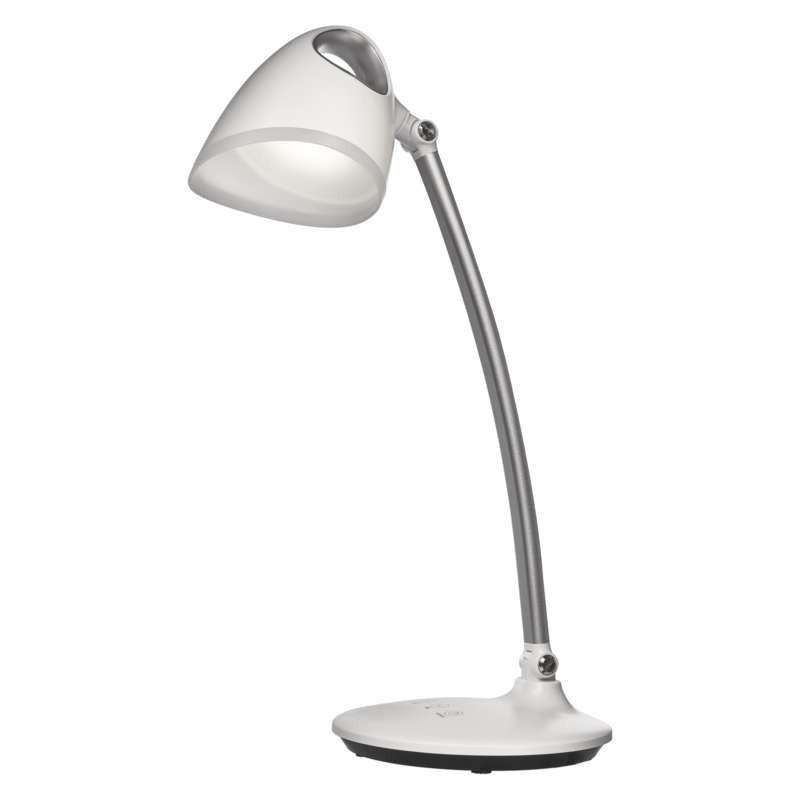 Lampki-biurkowe - lampa biurkowa led carla biała emos - 1538151000 firmy EMOS
