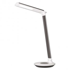 Lampki-biurkowe - lampa biurkowa led dexter czarna emos - 1538152000
