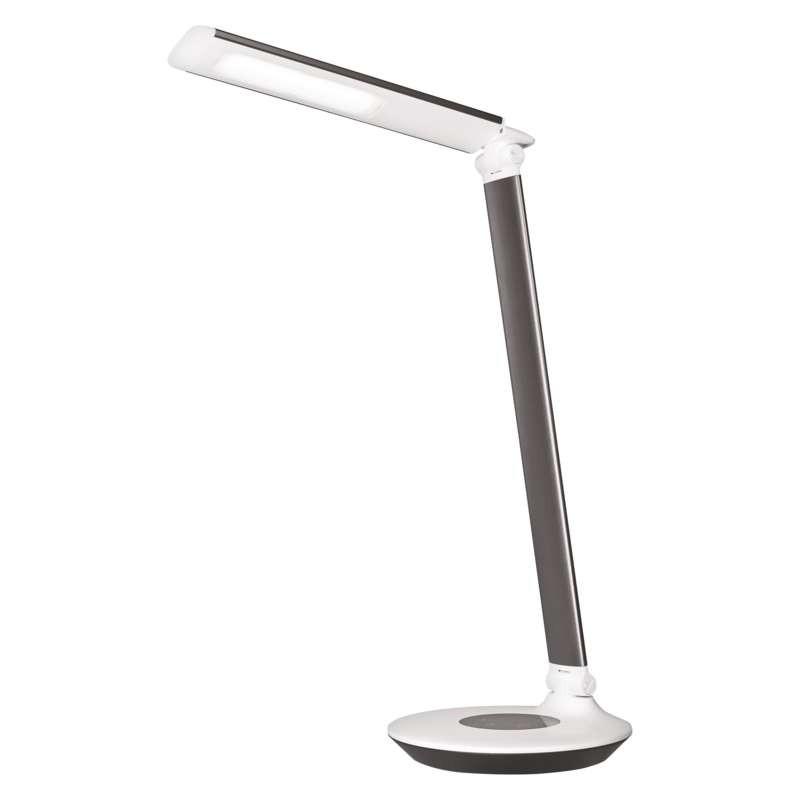 Lampki-biurkowe - lampa biurkowa led dexter czarna emos - 1538152000 firmy EMOS