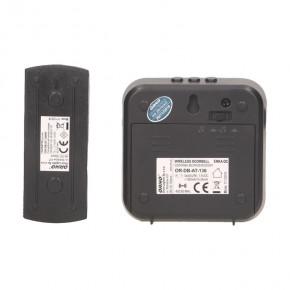 Dzwonki-do-drzwi-bezprzewodowe - dzwonek bezprzewodowy na baterie z learning system enka dc or-db-at-136 orno