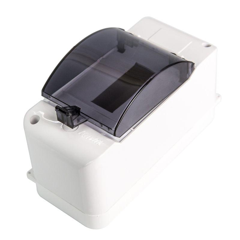 Skrzynki-elektryczne - obudowa bezpiecznikowa biała 3 modułowa z klapką ob-3k karlik firmy Karlik