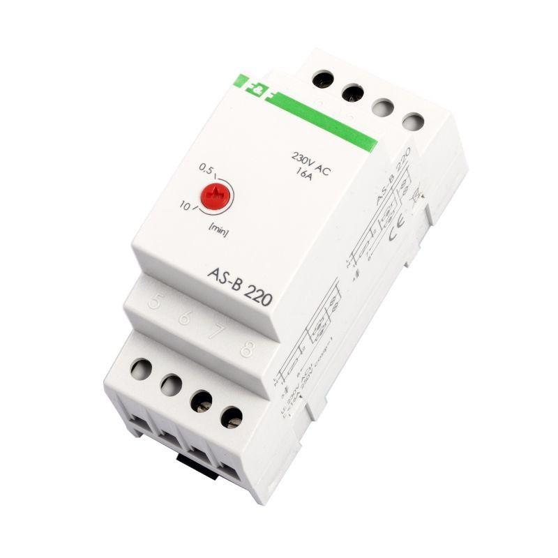 Automaty-schodowe - automat schodowy wyłącznik czasowy na szynę 16a as-b 220 f&f firmy F&F