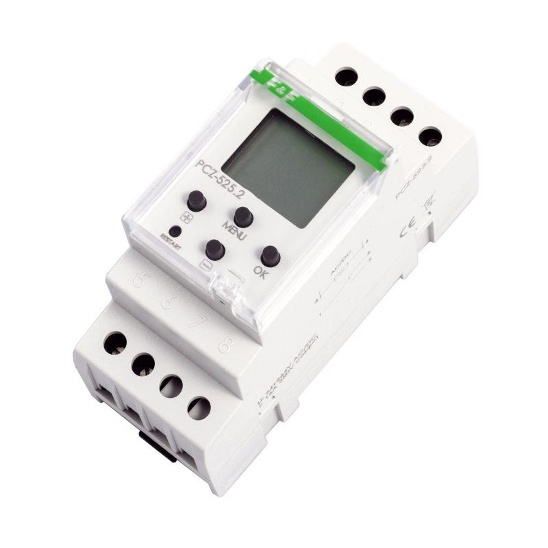 Sterowanie-czasowe - zegar sterujący programowalny pcz-525 f&f firmy F&F