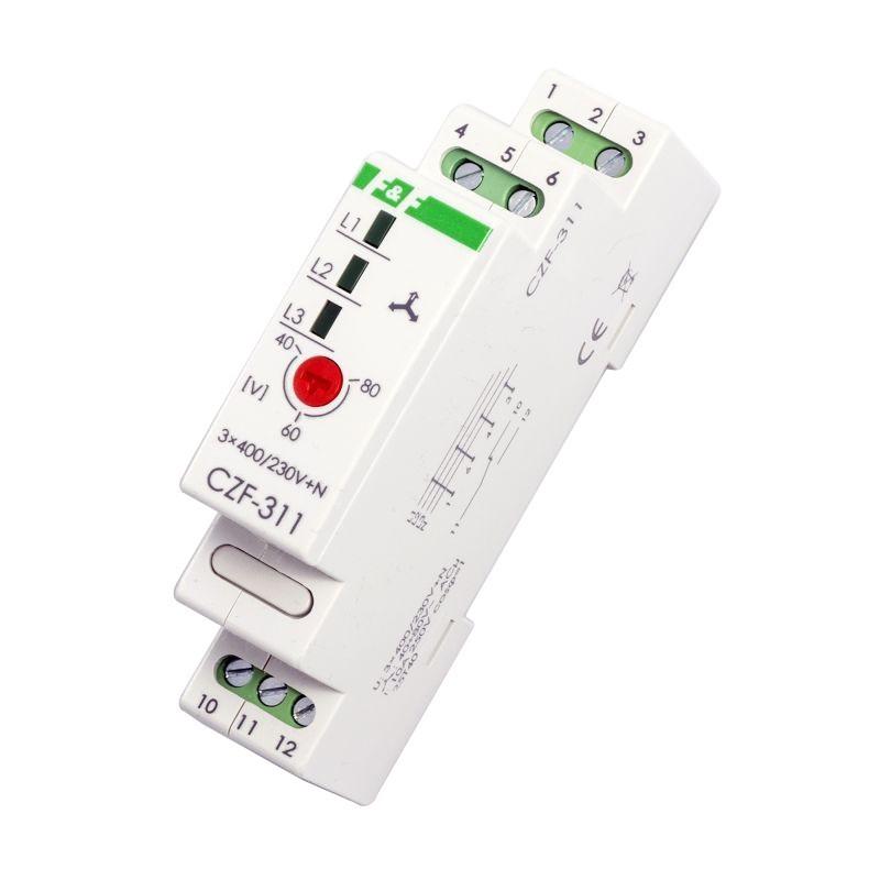 Przekazniki-kontroli-faz - czujnik zaniku fazy czf-311 f&f firmy F&F