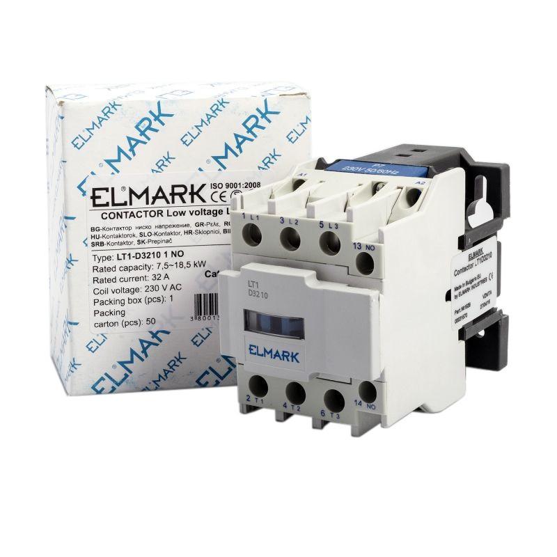 Styczniki - stycznik  32a elmark  lt1-d3210 1 no firmy ELMARK