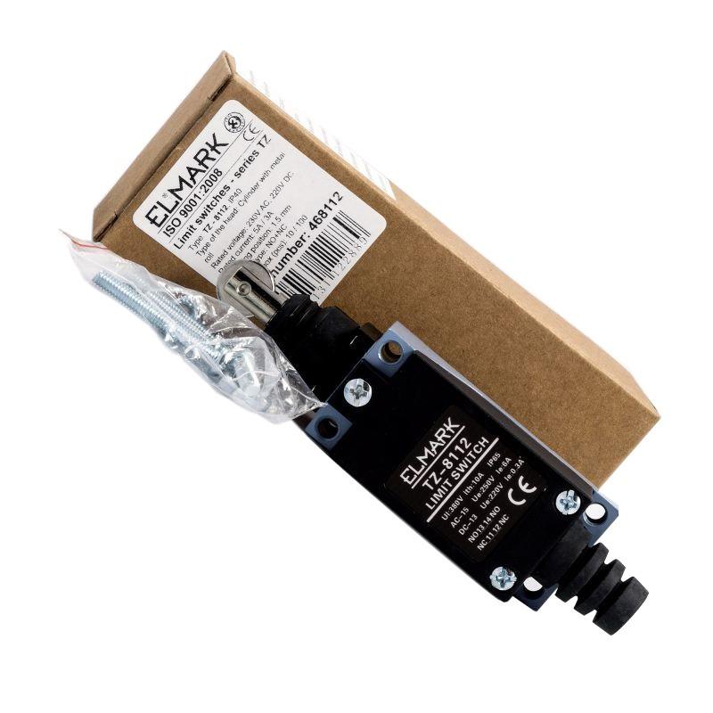 Wylaczniki-krancowe - wyłącznik krańcowy 230v tz-8112 elmark krańcówka firmy ELMARK