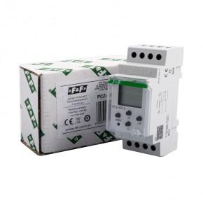 Sterowanie-czasowe - zegar sterujący dwukanałowy pcz-522.3 24-270v ac/dc 16a  f&f