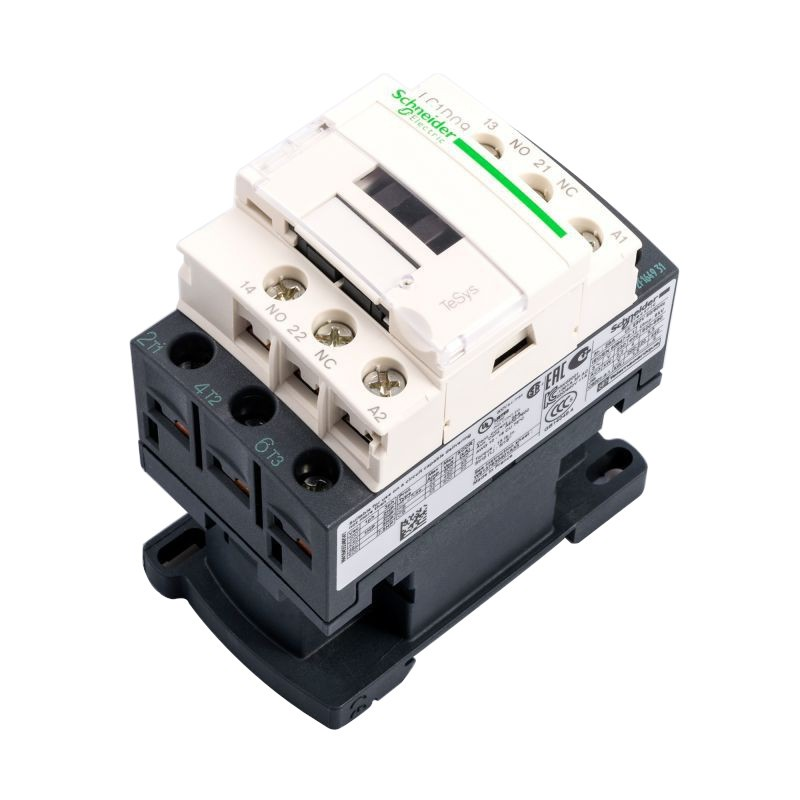 Styczniki - lc1d09p7 stycznik mocy schneider electric 9a 230v nz+no 4kw firmy Schneider Electric