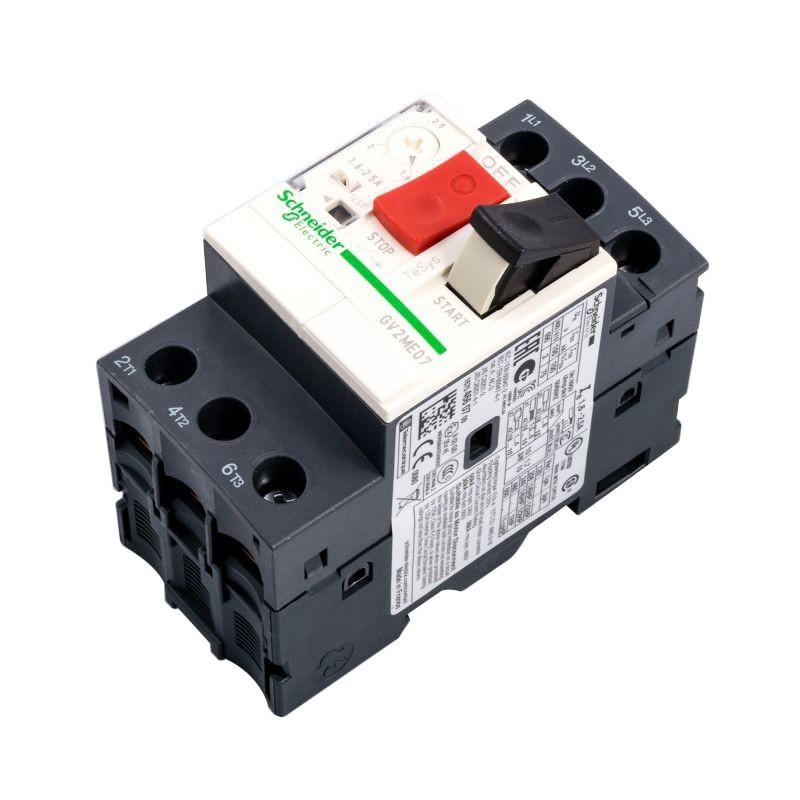 Wylaczniki-silnikowe - gv2me07 1.6-2.5a wyłącznik silnikowy termomagnetyczny przyciskowy trójbiegunowy schneider electric firmy Schneider Electric