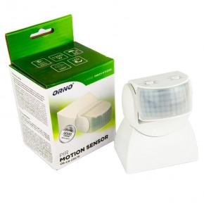 Czujniki-ruchu - biały czujnik ruchu pir 1200w or-cr-236/w orno