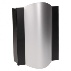 Dzwonki-do-drzwi-przewodowe - gong dwutonowy bim-bam 8v czarno-srebrny or-dp-vd-144/b-g/8v orno
