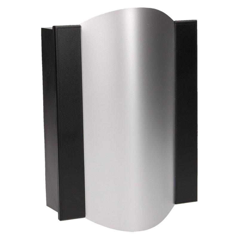 Dzwonki-do-drzwi-przewodowe - gong dwutonowy bim-bam 8v czarno-srebrny or-dp-vd-144/b-g/8v orno firmy ORNO