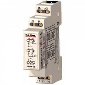 Przekaźnik bistabilny beznapięciowy 12-24V AC/DC PBM-05 ZAMEL
