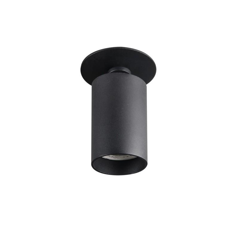 Oprawy-sufitowe - punktowa oprawa sufitowa czarna chiro dto-b gu10 kanlux firmy KANLUX