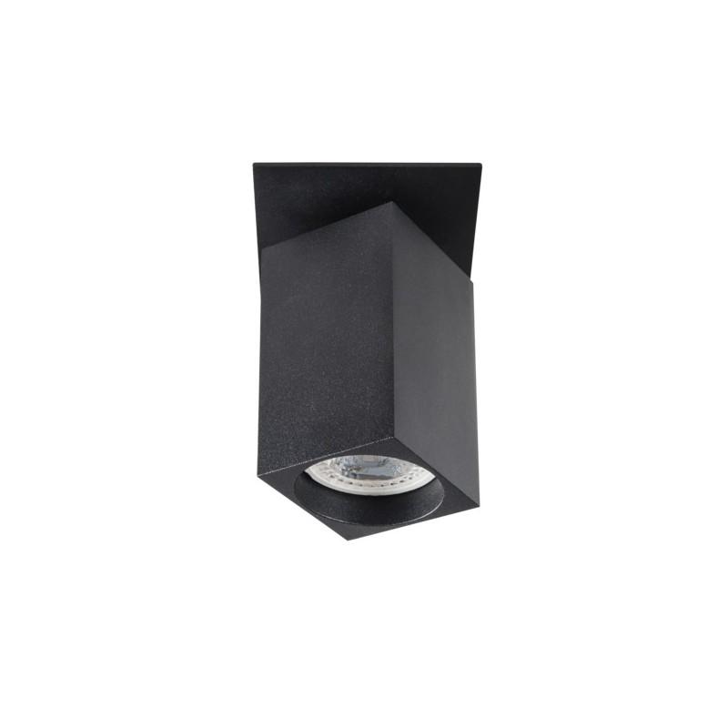 Oprawy-sufitowe - oprawa sufitowa punktowa czarna chiro gu10 dtl-b kanlux firmy KANLUX