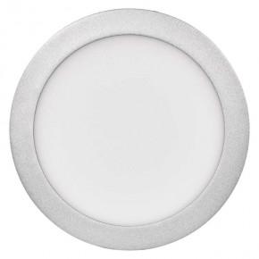 Srebrny plafon LED okrągły...