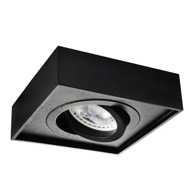 Oprawy-sufitowe - punktowa oprawa sufitowa czarna mini gord kanlux firmy KANLUX