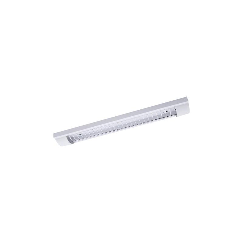 Oprawy-sufitowe - liniowa oprawa techniczna pogo led 2x18w grill 03684 ideus firmy IDEUS - STRUHM