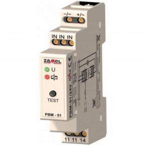 Przekazniki-bistabilne - przekaźnik bistabilny modułowy 230v ac ip20 pbm-01 exta zamel