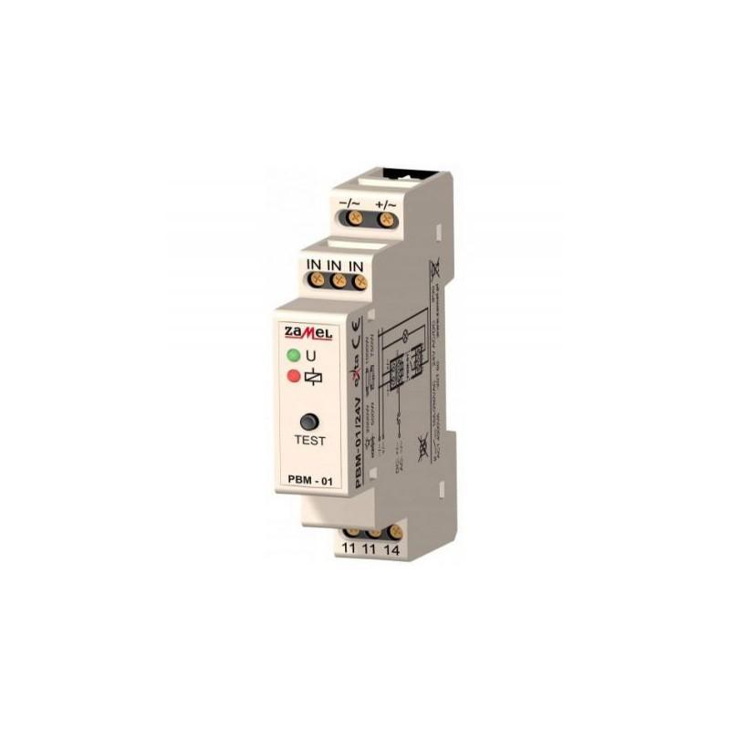 Przekazniki-bistabilne - przekaźnik bistabilny modułowy 230v ac ip20 pbm-01 exta zamel firmy ZAMEL