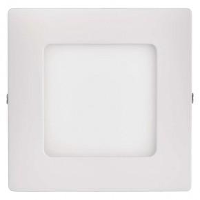 Kwadratowa oprawa LED biała...