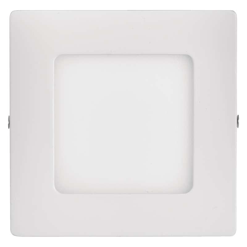 Plafony - oprawa led kwadratowa 6w ip20 ciepła biel emos - 1539061050 firmy EMOS