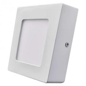 Plafony - oprawa led kwadratowa 6w ip20 ciepła biel emos - 1539061050