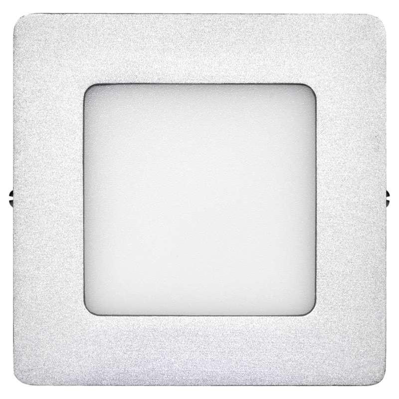 Plafony - oprawa led kwadratowa 6w ip20 neutralna biel emos - 1539067140 firmy EMOS