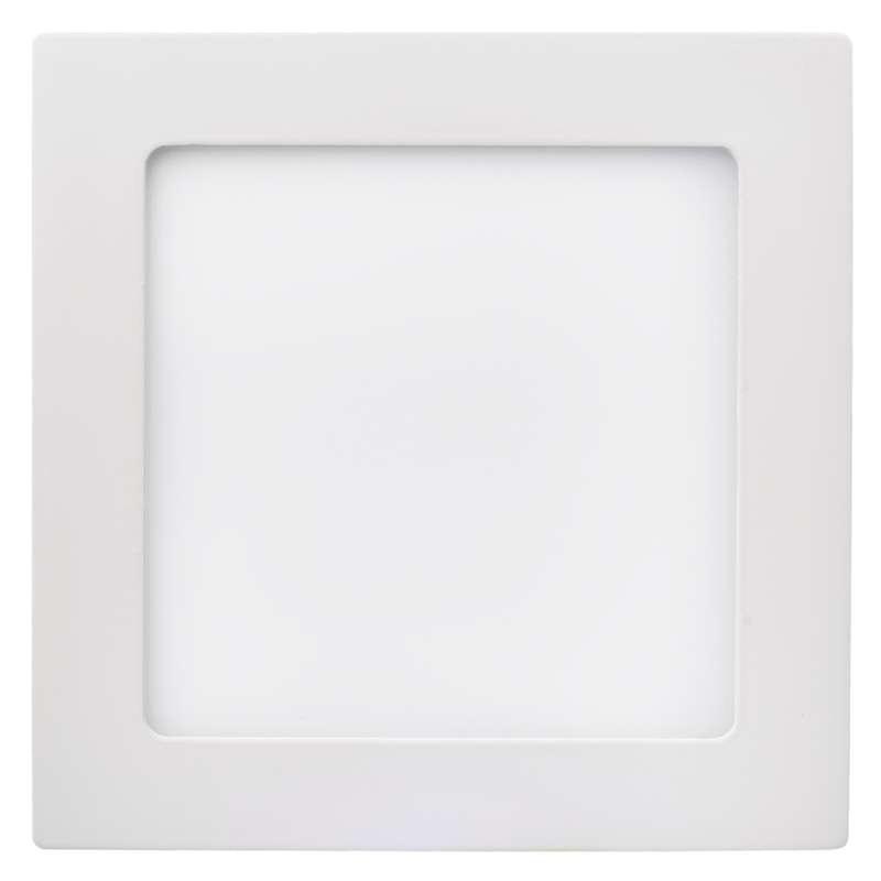Plafony - oprawa led kwadratowa 12w ip20 neutralna biel emos - 1539063050 firmy EMOS